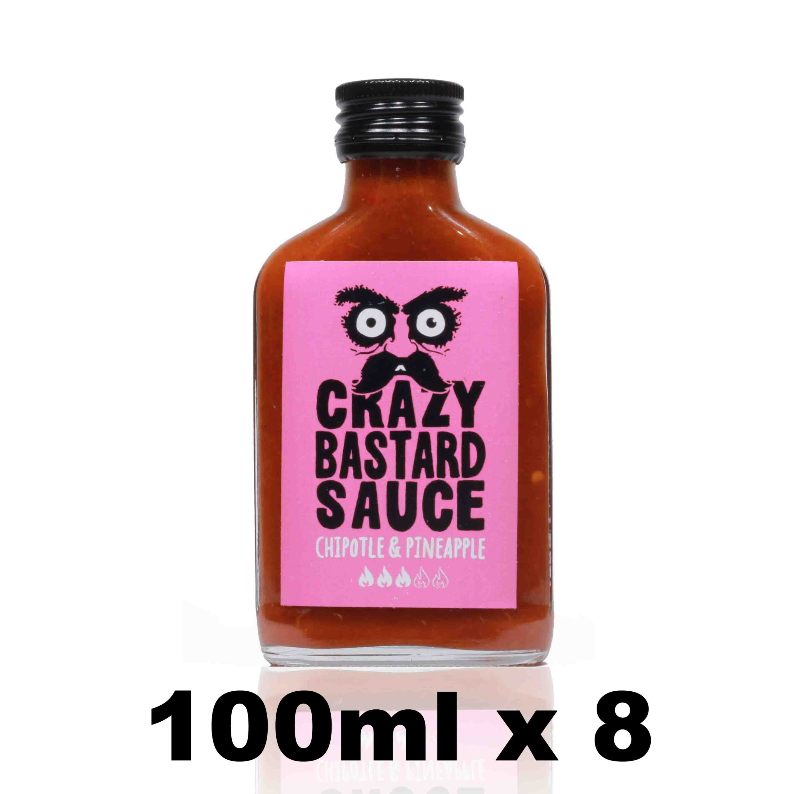 Chipotle & Pineapple 100ml x 8